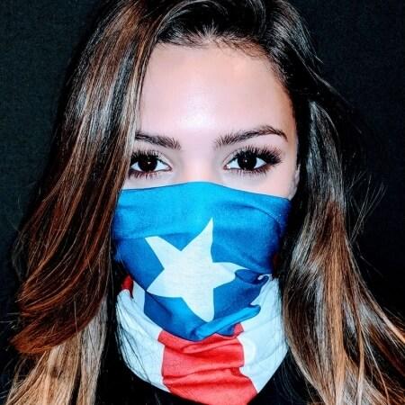 Puerto Rico Flag Face
