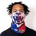 Haitian Flag Face