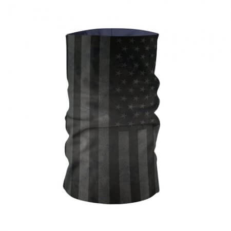 Blacked Out American Flag