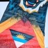 Antigua+-Barbuda Flag Face