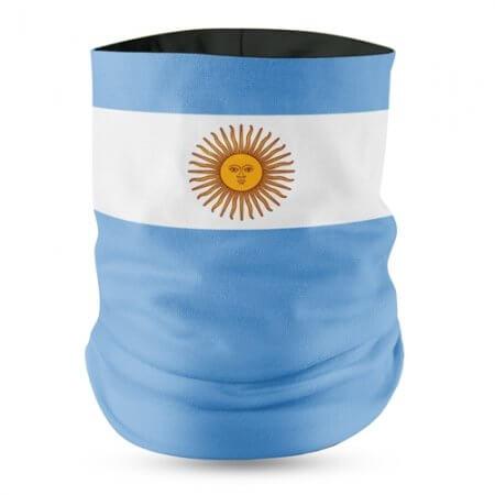 Argentina Flag Face Bandana