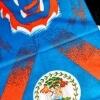 Belize Flag Face