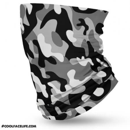 black camouflage
