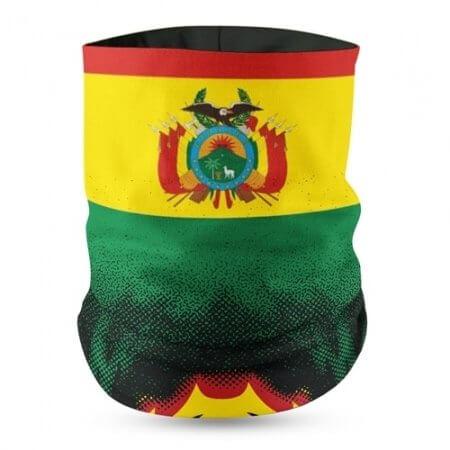 Bolivia Flag Face Bandana