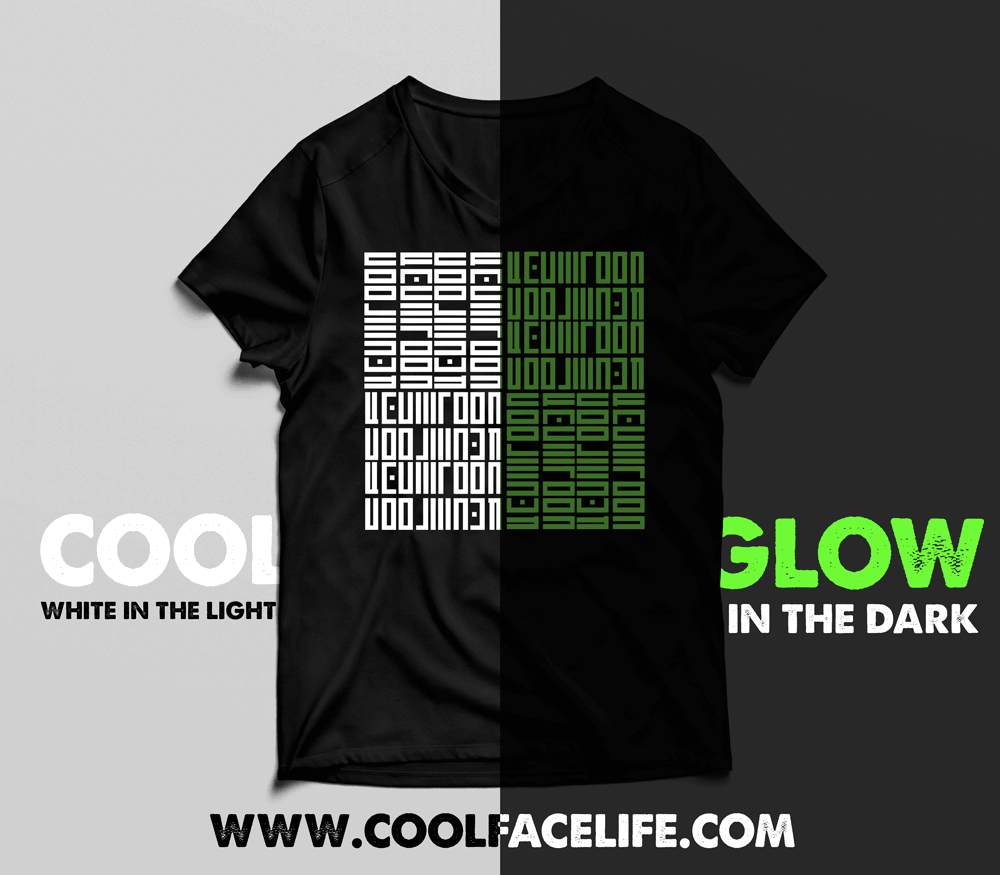 Cool-Face-Life-Glow-Tshirt