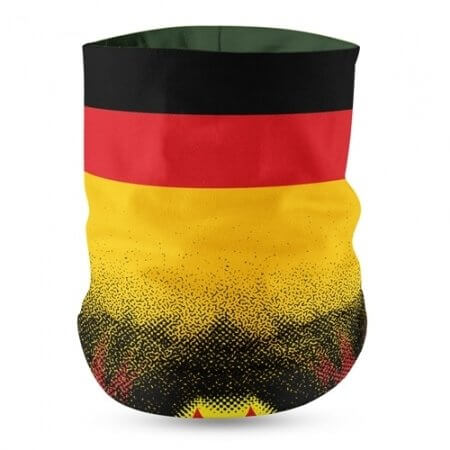Germany Flag Face