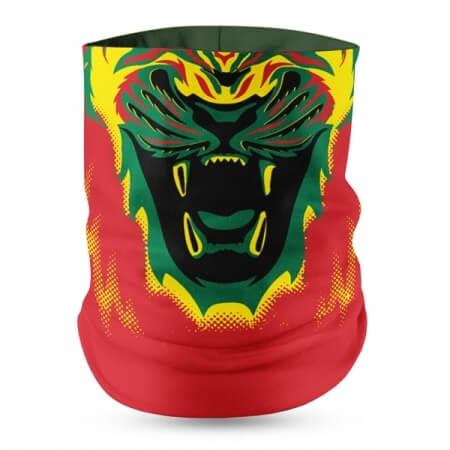 Ghana Flag Face