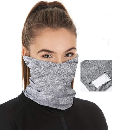 Multi-Purpose Neck Gaiter With Filter