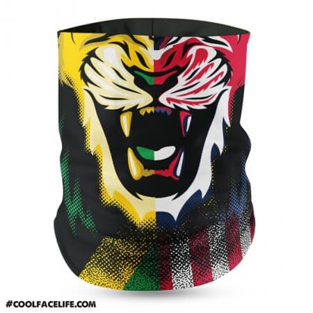 Mixed Flag - Jamaica Usa Bandana