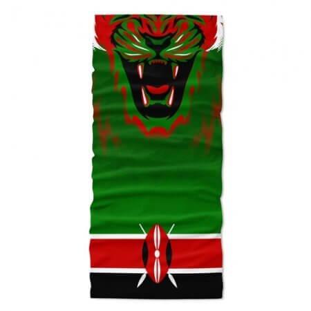 Kenya Flag Face