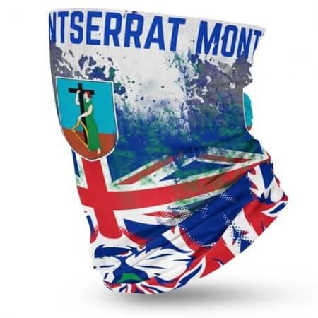 Montserrat Flag Face