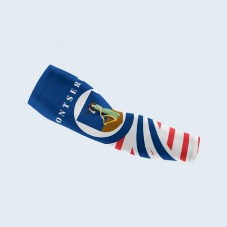 Montserrat Flag Arm Sleeve