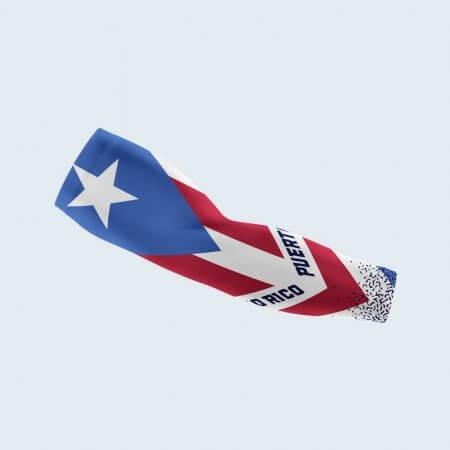 Puerto Rico Flag Arm Sleeve