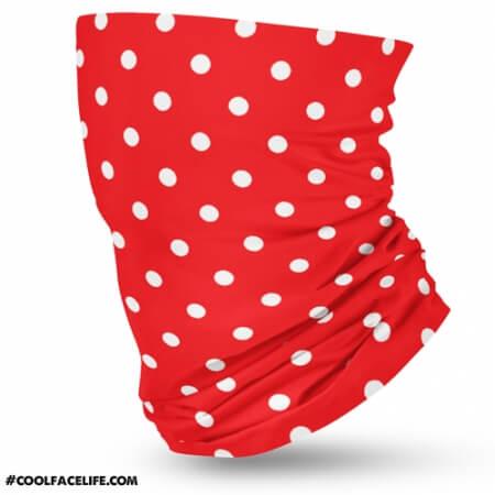 Red Polkadot Bandana