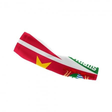 Suriname Themed Arm Sleeve