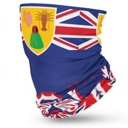 Turks and Caicos Flag Bandana