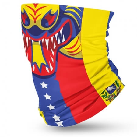 Venezuela Flag Face