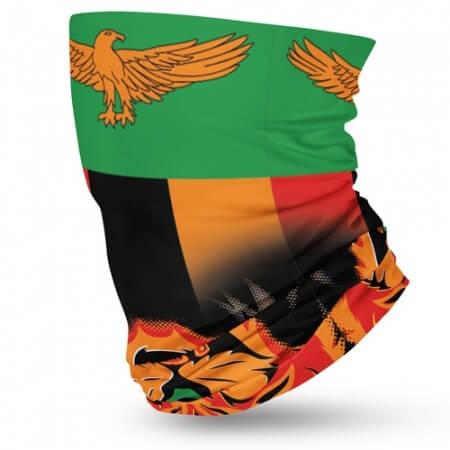 Zambia Flag Face